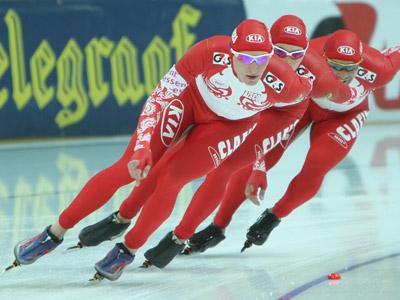 Сборная России заняла 8-е место в общекомандном зачете ЧМ по конькобежному спорту