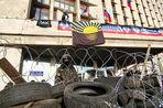 Милиция не препятствует пророссийским активистам на юго-востоке Украины