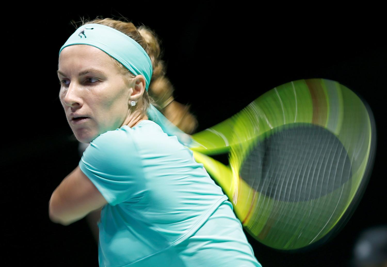 Русская теннисистка уступила вполуфинале Итогового турнира года