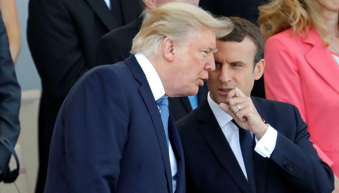 Трамп иМакрон обсудили борьбу стерроризмом вСахельском регионе Африки