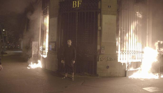 Милиция  Парижа задержала акциониста Павленского заподжог Банка Франции