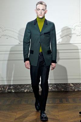 Коллекция одежды от Yves Saint Laurent сезона осень-зима 2011/2012.