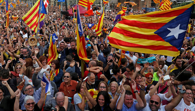 Германия непризнает независимость Каталонии, сообщили в руководстве