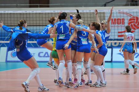Казанское Динамо повторно стало чемпионом России по волейболу