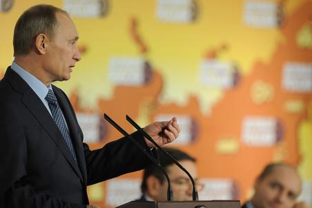 Премьер-министр РФ принял участие в работе съезда «Деловая Россия»