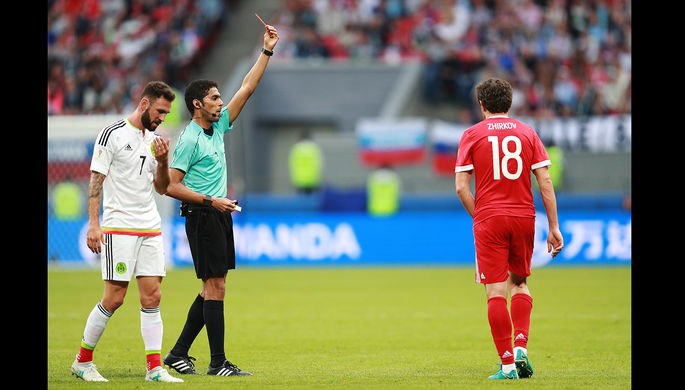 ВСаудовской Аравии расследуют дело вотношении судьи чемпионата мира