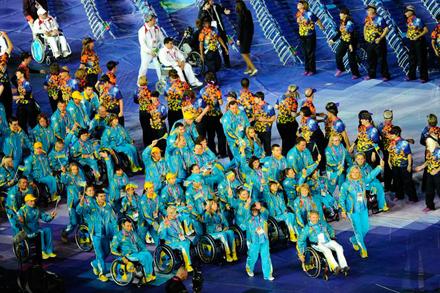 Украинские паралимпийцы остаются в Сочи