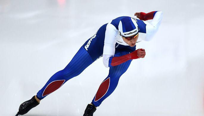 Конькобежец Павел Кулижников одержал победу пятисотку наКубке мира
