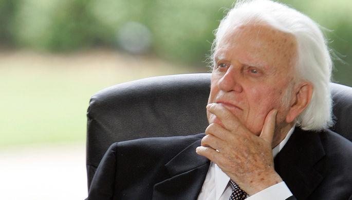 Скончался американский проповедник Билли Грэм