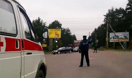 Полиция проверит инцидент с перекрытием дороги для кортежа чиновника: гаишник не пропустил «скорую» с умирающим пациентом