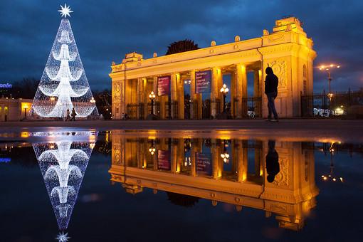 Новый год москвичи могут встретить без снега, предупреждают метеорологи