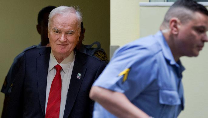 «Олицетворение зла». вмеждународной организации ООН  поддержали вердикт  Младичу