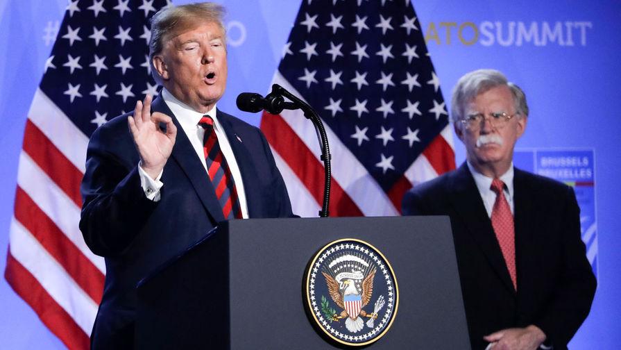 Трамп раскрыл причины отставки Болтона