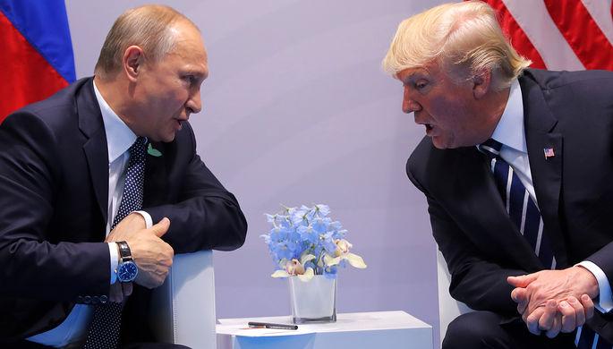 Трамп готовится кновым переговорам сПутиным: «Мыдолжны поговорить обУкраине»