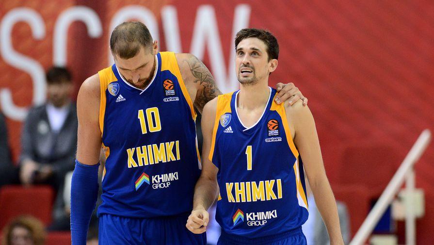 «Химки» обыграли «Панатинаикос» вматче баскетбольной Евролиги
