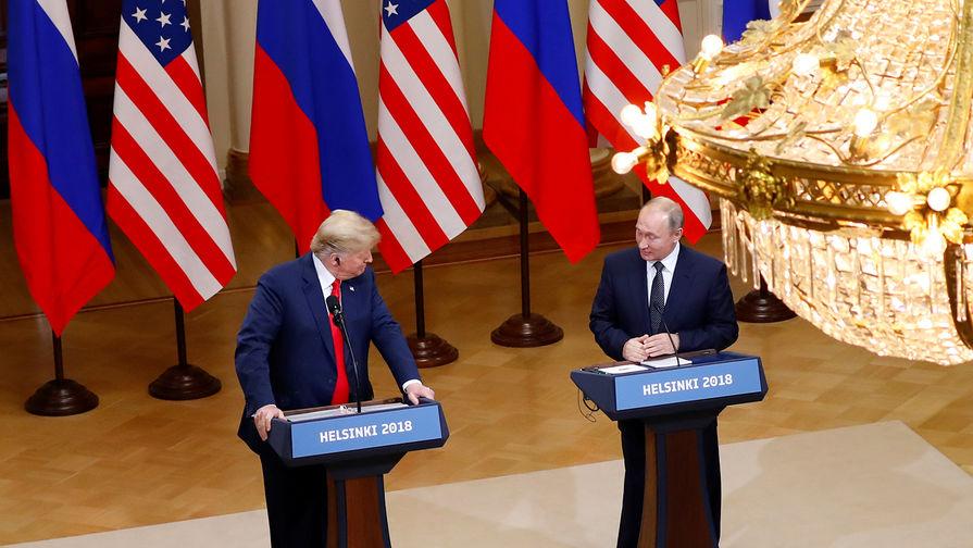 «Яхотел, чтобы онвыиграл». Путин— опобеде Трампа навыборах
