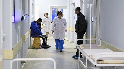 68-летний пенсионер умер в больнице, когда врачи встречали мэра города
