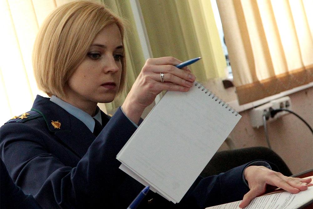 СМИ и блогосфера обсуждают новый имидж крымского прокурора Натальи Поклонской