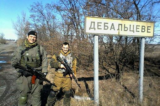 Серб Радомир Почуча (слева), воевавший в Донбассе против украинских силовиков