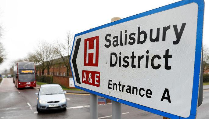 Милиция Великобритании связала инцидент вЭймсбери споследствиями нападения вСолсбери