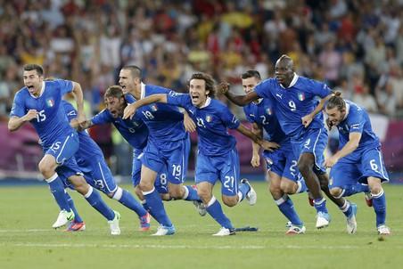 Радость итальянцев