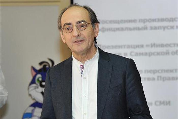 Генеральный директор Danone Россия Бернар Дюкро
