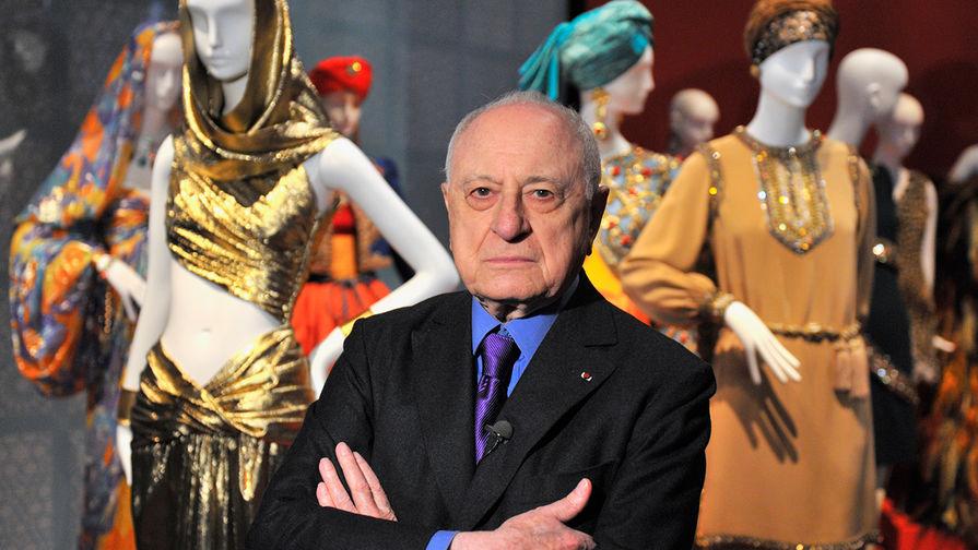Скончался сооснователь бренда Yves Saint Laurent Пьер Берже