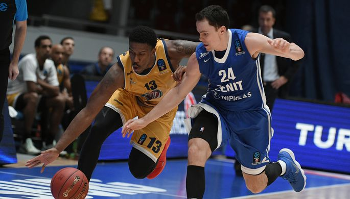 Баскетбольный «Зенит» одержал победу  2-ой  матч Топ