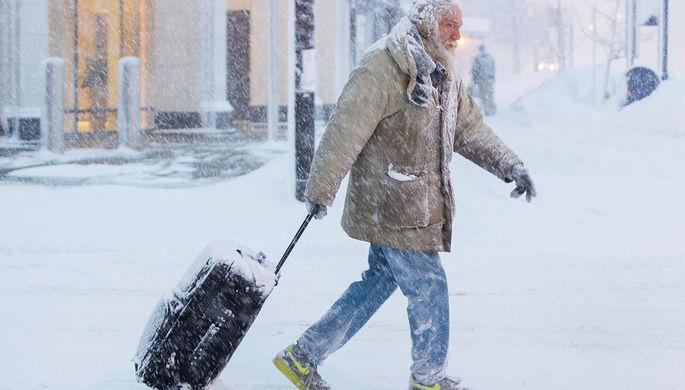Свыше 550 рейсов отменены ваэропортах Чикаго