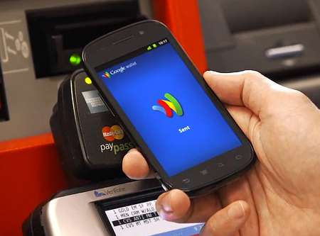 Google �������� �����, ����������� � ��� ��������� ������� Google Wallet
