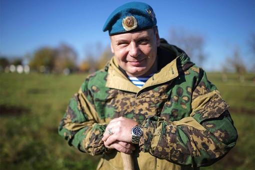 Председатель Союза десантников Крыма Владимир Кузьменков