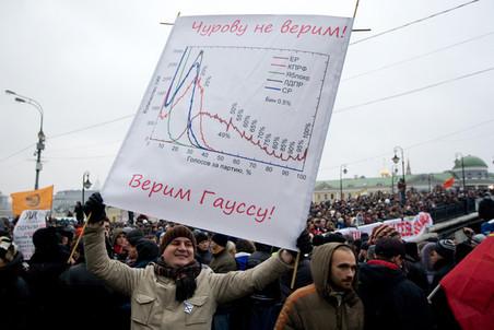 После выборов в Госдуму многие в России узнали о том, что такое распределение Гаусса
