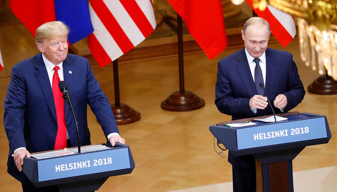 Белый дом выпустил жетоны вчесть встречи Трампа и В.Путина вХельсинки