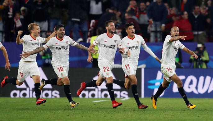 «Севилья» и«Ливерпуль» сыграли вничью вЛиге чемпионов