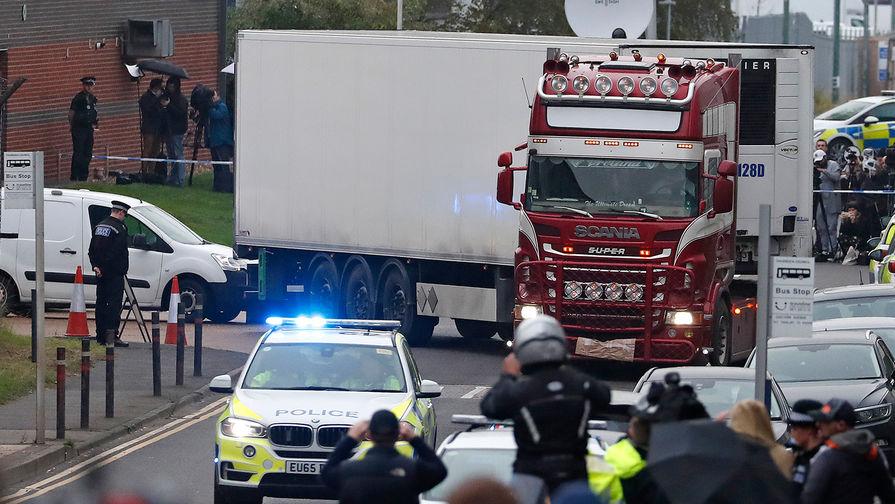 Задержаны новые подозреваемые поделу огрузовике с39 трупами вВеликобритании