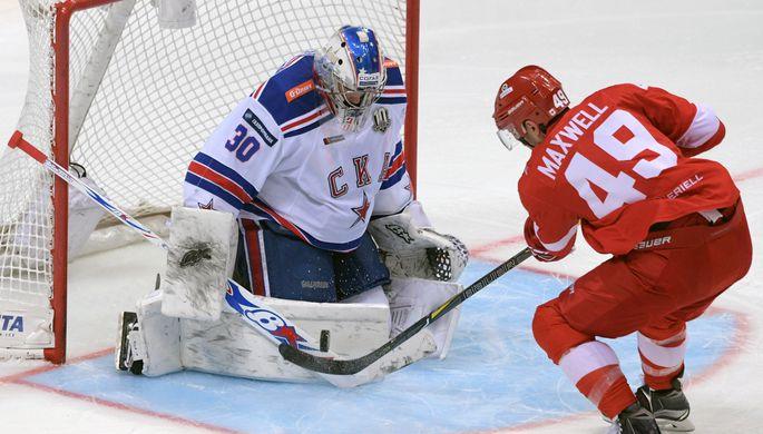 СКА обыграл надомашнем льду «Спартак»
