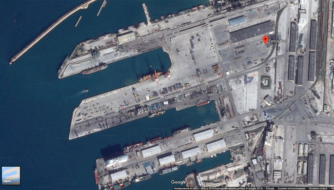 Русские корабли смотрят зафлотом США вСредиземном море