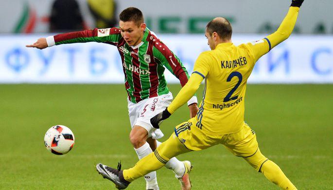 «Ростов» уступил казанскому «Рубину» срезультатом 0:1