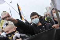 Около 100 националистов задержаны на Манежной площади, очевидцы сообщают об избиениях мигрантов