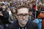 В Москве прошел марш в поддержку «узников Болотной»