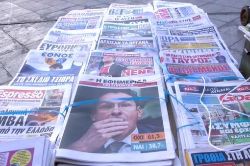 Греция проголосовала против условий международных кредиторов