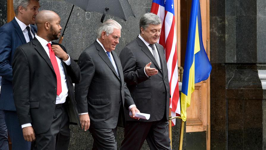 Украина расширит сотрудничество сСША вомногих сферах— Порошенко