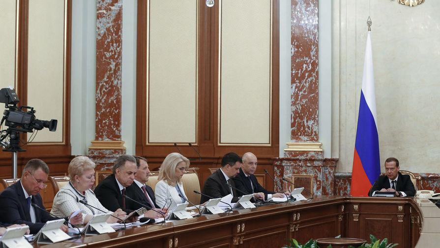 Медведев распределил полномочия между вице-премьерами нового руководства
