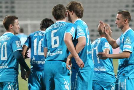«Зенит» одержал четвертую победу подряд на сборе
