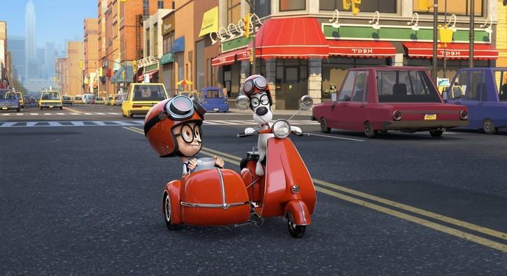 Кадр из мультфильма «Приключения мистера Пибоди и Шермана». Источник: boxofficemojo.com