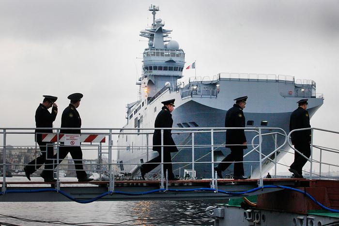 Универсальные десантные корабли типа «Мистраль