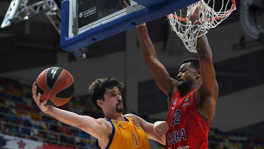ЦСКА победил «Химки» вовтором матче ¼ финала плей-офф баскетбольной Евролиги