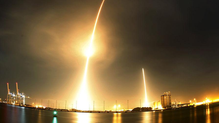 SpaceX впервые спасла ракету после космического запуска