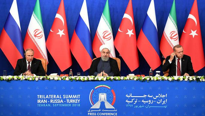 Встреча Эрдогана и В.Путина : договорились обо всем, кроме томатов