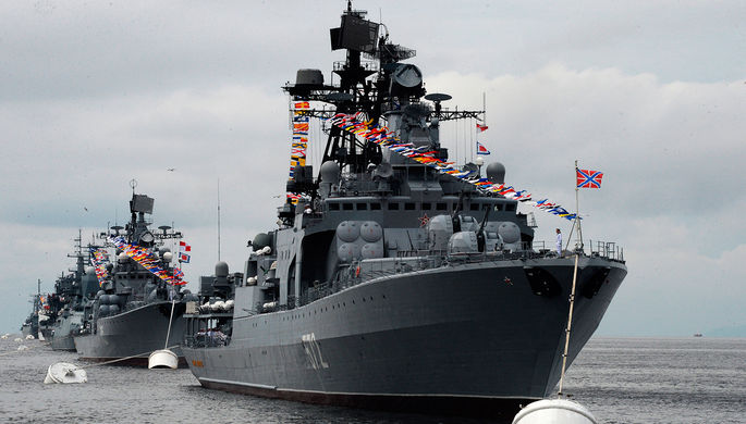 Отряд кораблей ТОФ оставляет Владивосток и уходит вАзиатско-Тихоокеанский регион